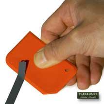 Bestickering gereedschap Sticker verwijderspatel