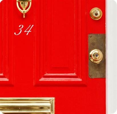 Huisnummer Traditioneel