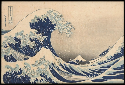 Poster & Gallery prints Rijksmuseum The Underwave off Kanagawa, Poster