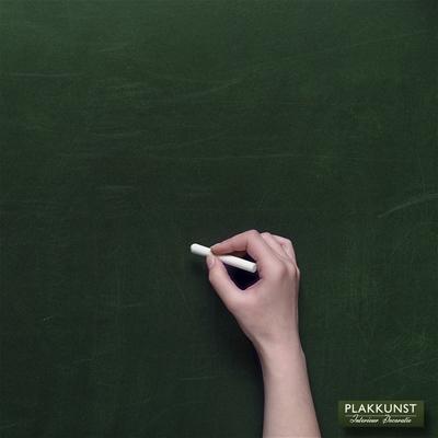Muurstickers Schoolbordfolie krijtfolie groen
