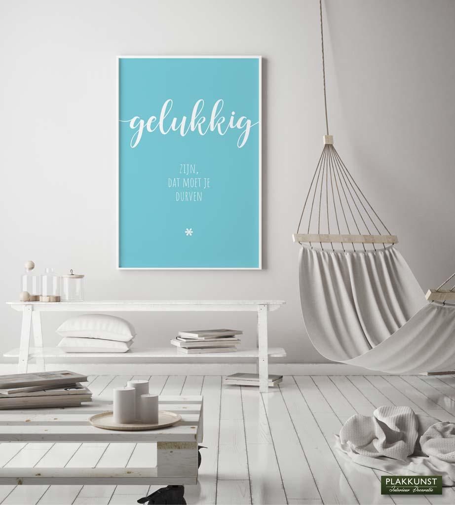 Gelukkig zijn, Poster