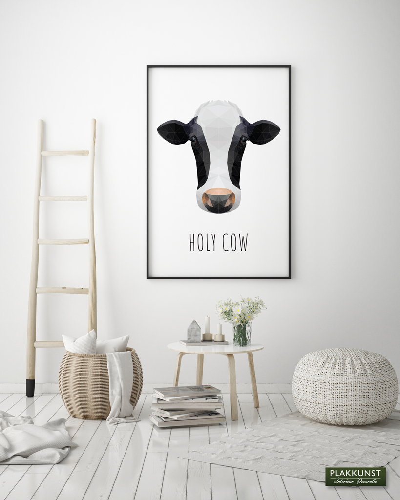 Cow polygon, Poster