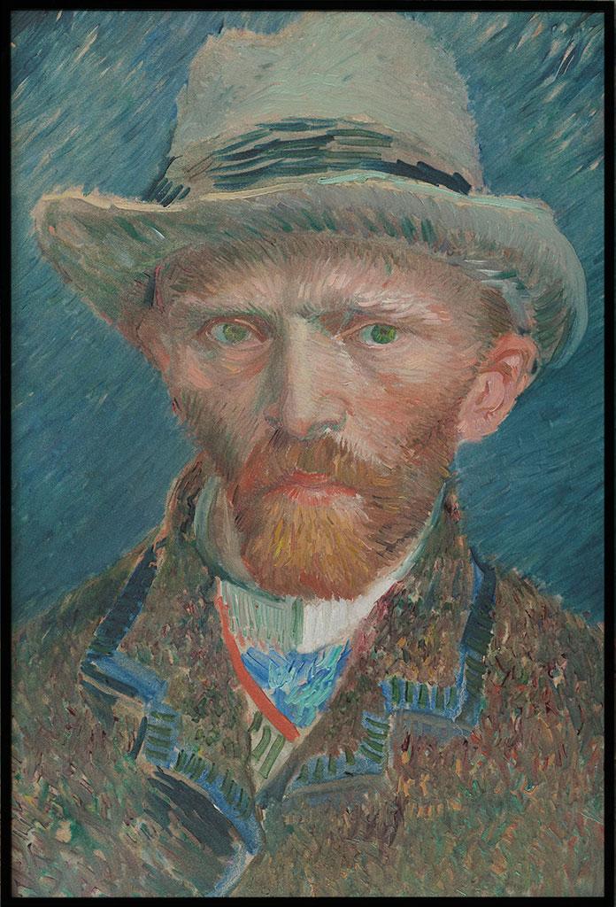 Zelfportret Vincent van Gogh, Poster