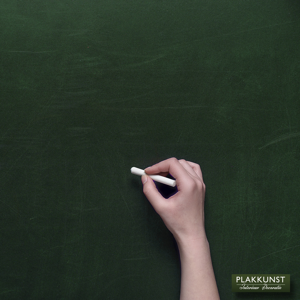 Schoolbordfolie krijtfolie groen